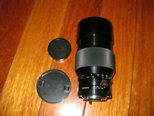 Soligor 200mm f2.8 Konica AR mount