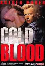 COLD BLOOD DVD RUTGER HAUER ***