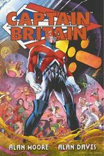 MARVEL ALAN MOORE CAPTAIN BRITAIN TRADE PAPERBACK ORIG FEB 2002 EDITION NEW RARE