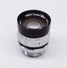 Nikon Nikkor O  55mm F/1.2 CRT High Speed Lens