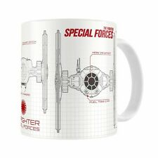 Star Wars -  Episode VII - Blueprint Special Forces Mug - New