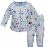 Nwt Baby Boys 2 Piece sets Outfits long Sleeve Top and Pants Size 0 3 6 9 months