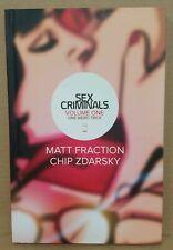 Rare Sex Criminals (2014) Vol 1 Convention Exclusive Hardcover One Weird Trick