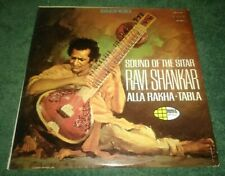 Sound Of The Sitar LP Ravi Shankar World Pacific Stereo Alla Rakha Inner Sleeve