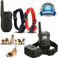2 Dog Shock Training E Collar With Remote 4Mode Electric Trainer Collar 1000ft