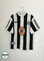 NEWCASTLE UNITED 1995/96 Adidas Home Football Shirt L Mens Vintage Soccer Jersey