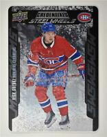 2019-20 Credentials Steel Wheels #SW-17 Nick Suzuki RC - Montreal Canadiens
