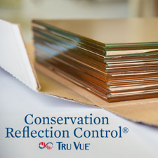 """10 Piece 5"""" x 7"""" Tru Vue Conservation Reflection Picture Frame Glass (1057CRC)"""