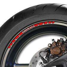 12 x Wheel Rim Decals Stickers Stripes - fireblade cbr vfr 600 1000 cb1000r cb f