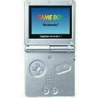 Authentic Refurbished Game Boy Advance SP System (001) (Silver) w/Charger