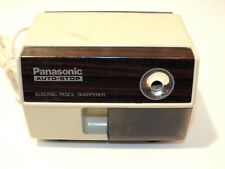 Vintage Electric Pencil Sharpener Panasonic Auto Stop Made In Japan Tested Works