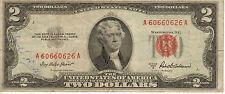 1953-A US Note, Red Seal, Medium Grade Note (R-191)