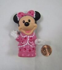 New! Fisher Price Little People MINNIE MOUSE in PINK Magic Kingdom Disney Palace