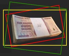 $500 Million Zimbabwe 2008 - Lot of 10 Circulated - U.S. Seller - Nice!