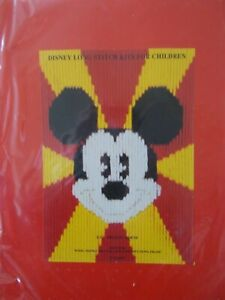 "Longstitch Kit Disney ""Mickey Mouse "" New by Designer stitches"
