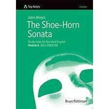 Notes The Shoe-Horn Sonata Standard Module A 2015-2020 HSC