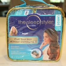 "The Sleep Styler Large, 8 count 6"" Memory Foam Rollers - As Seen On Shark Tank"