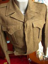 Vtg Battle Dress Blouse Sze 2 1955 SURPLUS NEW CANADIAN MILITARY JACKET