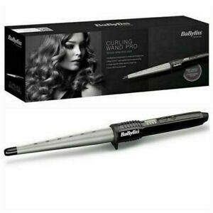 BaByliss Ceramic Curling Wand Pro Iron - Black/Silver RRP £24.99