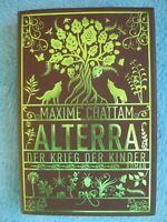 ALTERRA Der Krieg der Kinder Maxime CHATTAM PAN Verlag