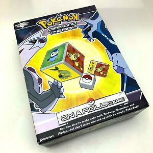 Pokémon Diamond And Pearl | On A Roll Game 2007 | Complete