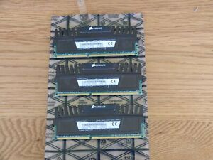 CORSAIR VENGEANCE DDR3 memory 12Gb 3 x 4Gb Triple Channel KIT 2000Mhz