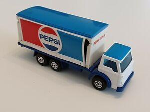 Alter Matchbox Superkings K-40 England 1979 Ford D-Series Pepsi Truck weiß blau
