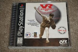 VR Baseball 97 (Sony Playstation 1 ps1) Complete