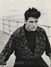 1986 Vintage 11x14 TOM CRUISE Coney Island Movie Actor Film Photo Art HERB RITTS