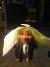 "Troll Doll 4 1/2"" Russ Arab Yellow Hair Around the World"