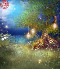FAIRY MAGIC FOREST WOOD BACKDROP BACKGROUND VINYL PHOTO PROP 5X7FT 150x220CM