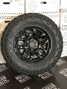 4x 2856518 285 65 18 285/65/18 NITTO GRAPPLER MUD TYRES FORD RANGER OFFROAD