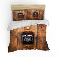 Jack Daniels Single/Double/Queen/King Bed Doona/Duvet/Quilt Cover Set Pillowcase
