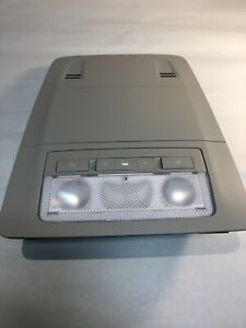 2011 GM Buick Regal Overhead Dome Map Lights OEM Taupe