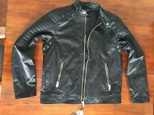 DIESEL DIESEL MENS  J-SHIRO MOTO BLACK JACKET( XLARGE) $ 298