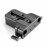 SmallRig Camera Base Plate with Rod Rail Clamp for Sony FS7,Canon C100/C300/C500
