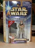 STAR WARS  ATTACK OF THE CLONES BLUE CARD GOLD STRIPE MOSC