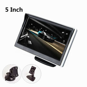 5in Car Monitor TFT LCD HD Digital Display For Rear View Reverse Parking Camera