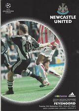 Newcastle United v. Feyenoord Champions League 2002-2003