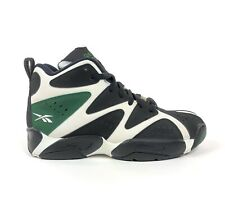 Reebok Kamikaze I Mid Racing Green Black Mens 7.5 Supersonics Shoes Retro V60362