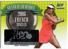 2013 Ace Authentic Grand Slam Heroes Autographs #GSHAI1 ANA IVANOVIC Auto