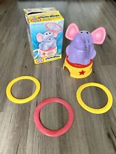 2000 Little Tikes Circus Rings Sprinkler Elephant Wiggly Trunk Rotating Base