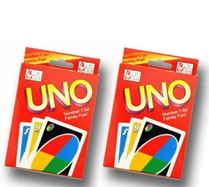 Standard 108 UNO Playing Cards Game Travel Family Friends Playcards Party Iso AU