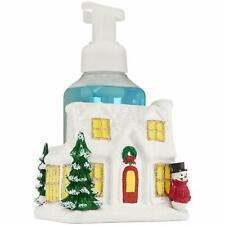 Brand New Bath and Body Works Ceramic Holiday House Hand Soap Holder