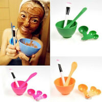 EE_ EG_ Facial 6in1 Stick Beauty Brush Set Spoon Face Mask Bowl Mixing Makeup To