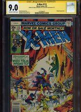 X-Men #113 CGC 9.0 2x SS Chris Claremont & Bob Layton 1978 UNCANNY Magneto