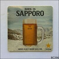 Sapporo Premium Beer Japan's Oldest Brand Coaster (B396)