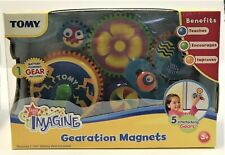 TOMY Gearation Refrigerator Magnets RARE NEW in Box
