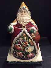 "Vintage: Jim Shore Holiday Traditions ""12 Days Of Christmas"" Cookie Jar"