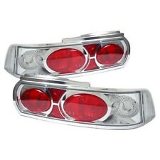 Lexus Style Crystal Clear Chrome Rear tail lights Clusters Lenses Toyota MR2 mk2